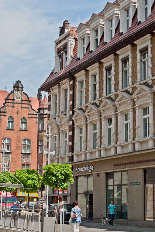 Ulica Dzieci Lwowskich w Bytomiu