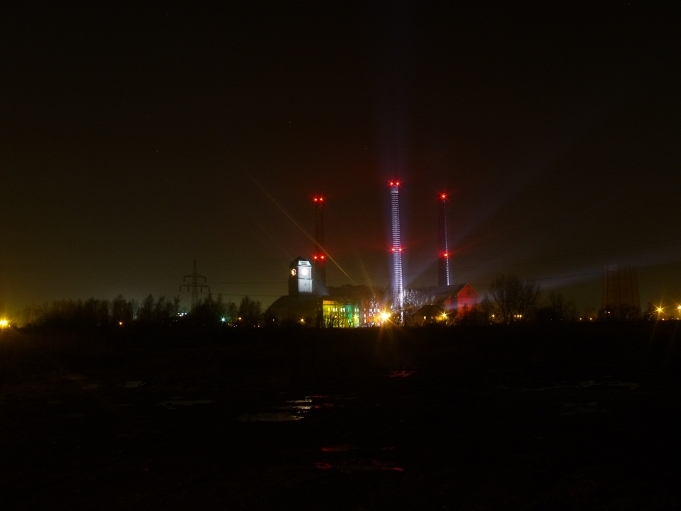 Iluminacja EC Szombierki