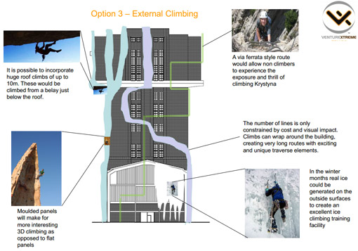 Projekt Centrum Sportów Ekstremalnych