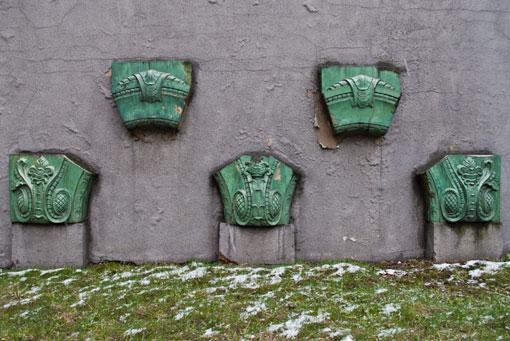Fragment portalu kamienicy przy ul. Piekarskiej