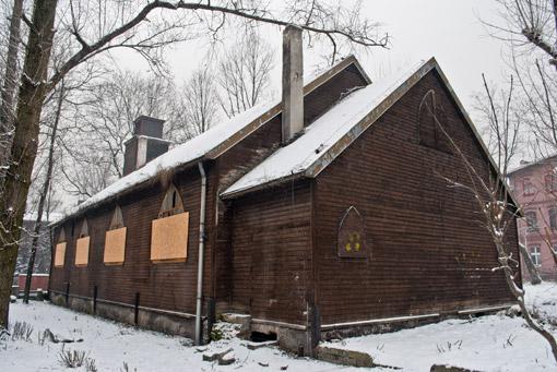 Kościółek przy ul. Stalowej