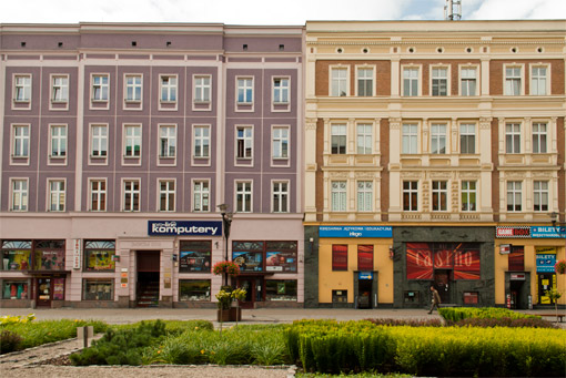 Kamienice przy ul. Dworcowej