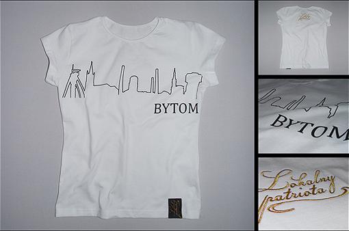 Koszulka Panorama Bytomia