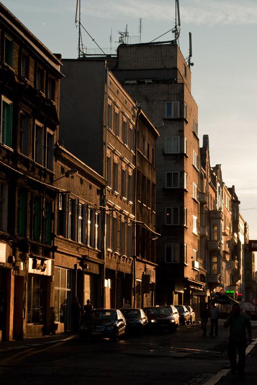 Ulica Krakowska w Bytomiu