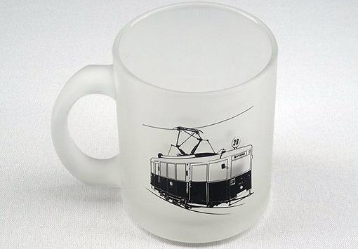 Kubek z tramwajem 38