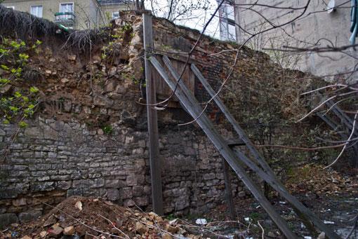 Pozostałości murów miejskich