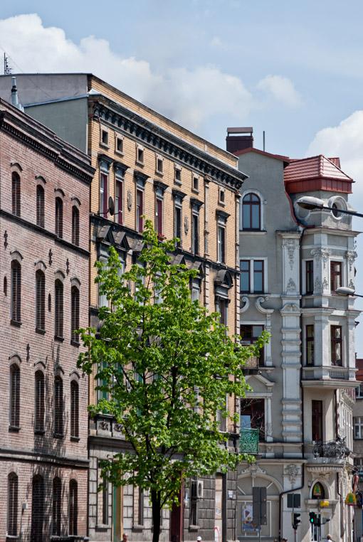 Ulica Piłsudskiego w Bytomiu