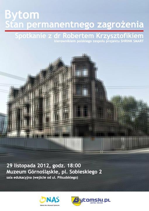 Spotkanie z dr Robertem Krzysztofikiem
