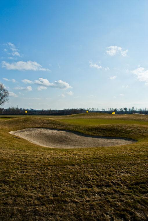 Pole golfowe w Szombierkach
