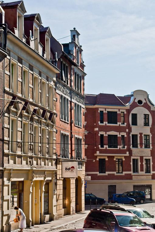 Ulica Rycerska w Bytomiu
