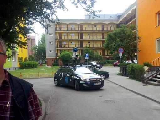 Auto Street View w Szombrach