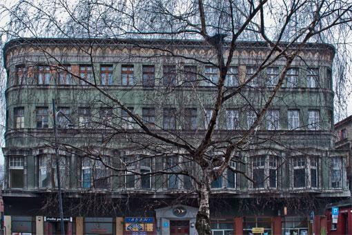 Kamienica przy ul. Webera