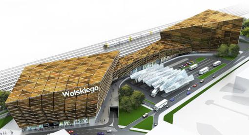Nowy dworzec na placu Wolskiego